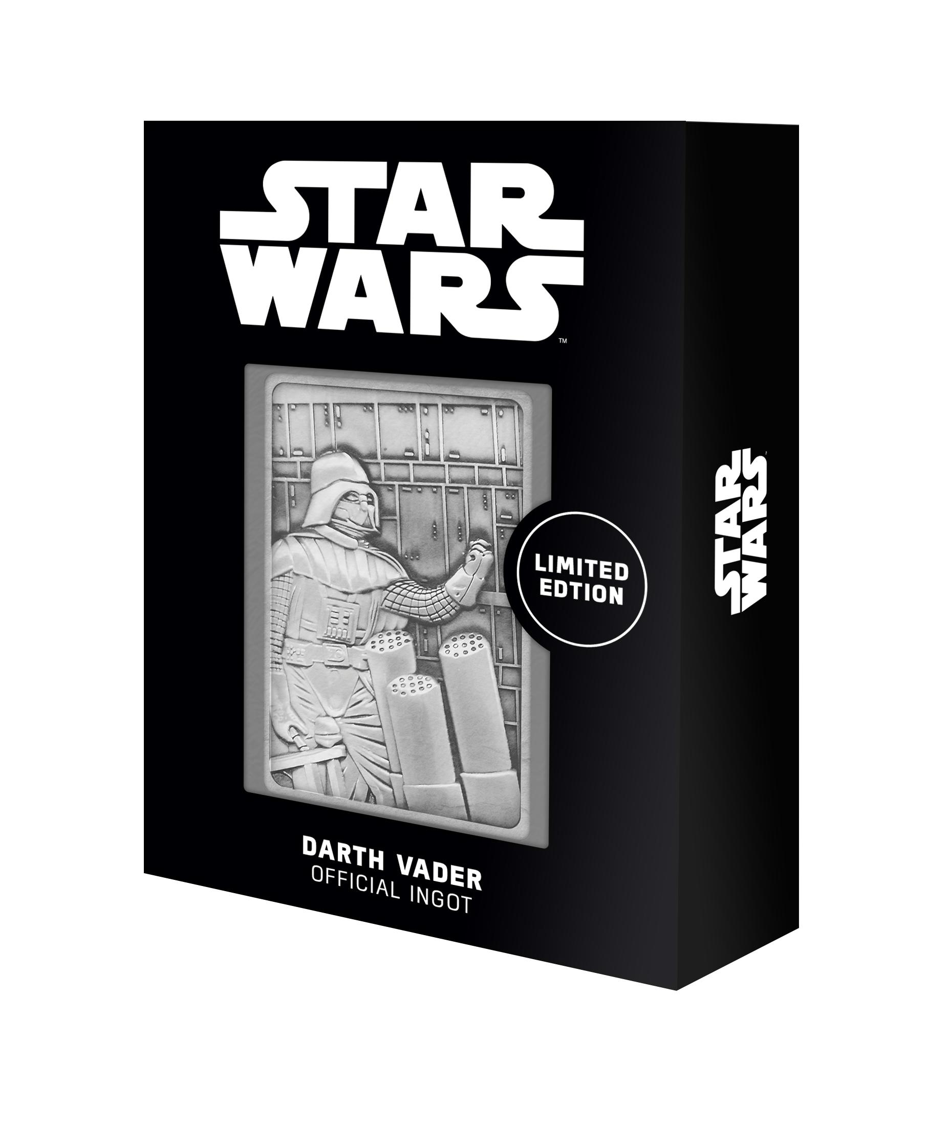 Star Wars - Darth Vader Bespin Scene : Lingot en métal collector