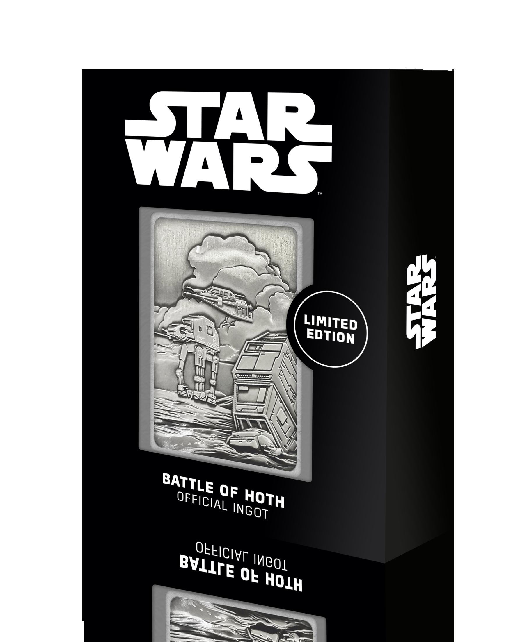 Star Wars - Hoth Planet Scene : Lingot en métal collector