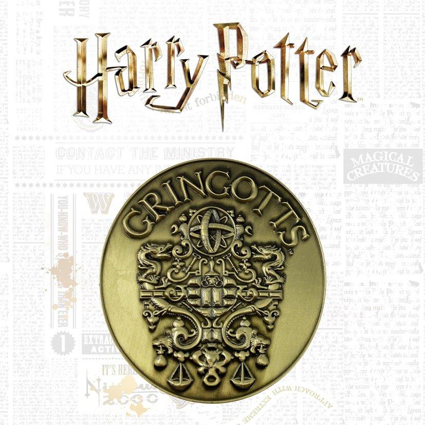 Warner Bros - Harry Potter : Médaillon en édition limité
