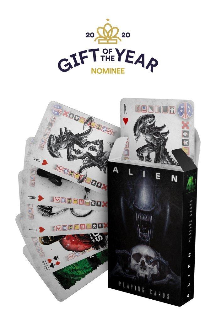 Alien -  Jeu de cartes 40ème anniversaire