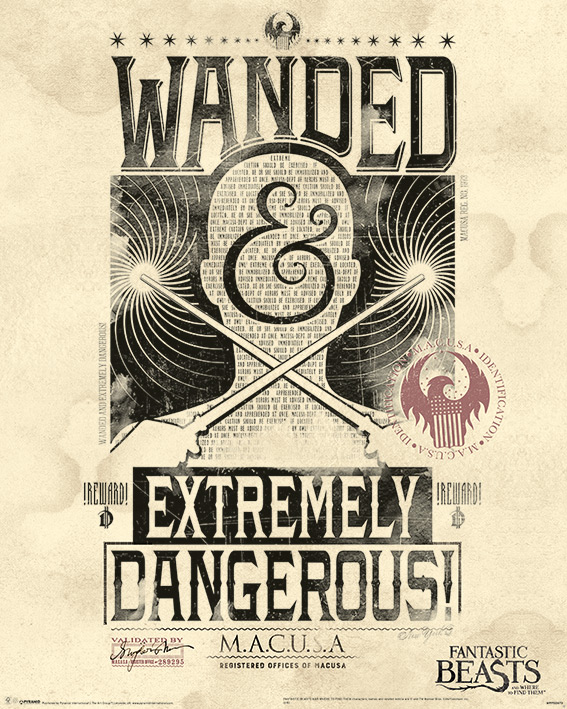 Fantastic Beats - Mini poster Extremely dangerous