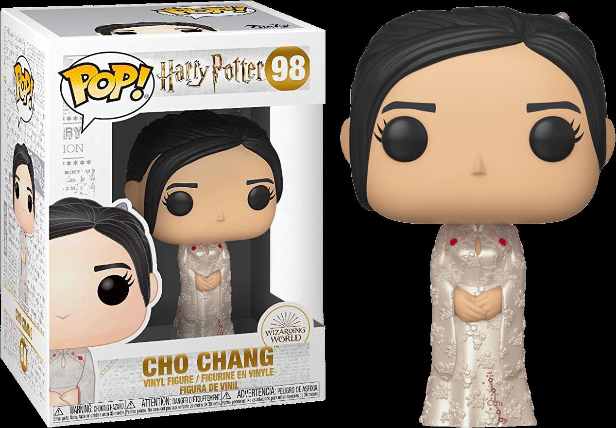 Harry Potter - Bobble Head Funko Pop N° 98 : Cho Chang Yule Ball