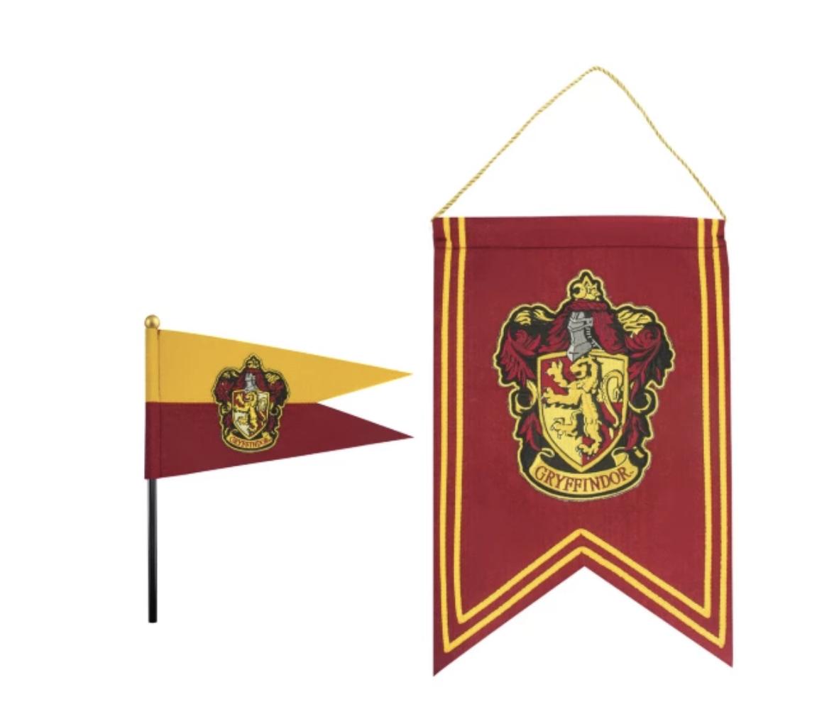 Warner Bros - Harry Potter : Bannière et Drapeau Gryffondor