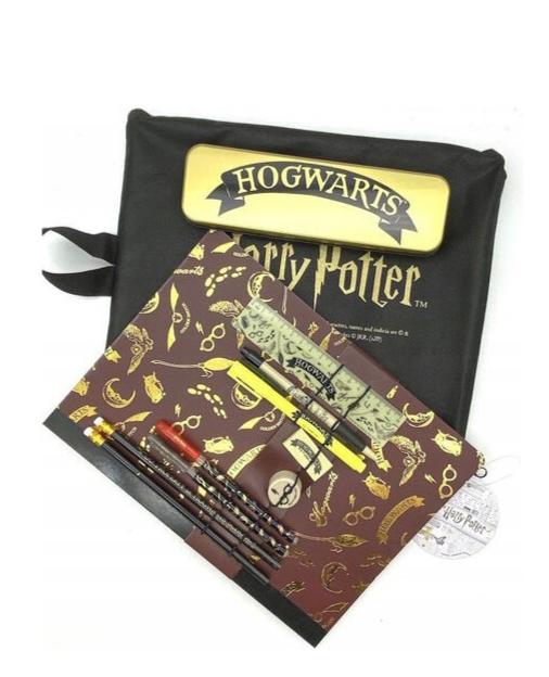 Warner Bros - Harry Potter : Set de papeterie Hogwarts