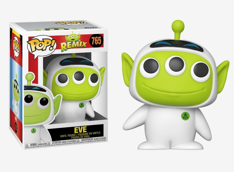 Pixar - Bobble Head Funko Pop N°756 : Alien Remix Eve