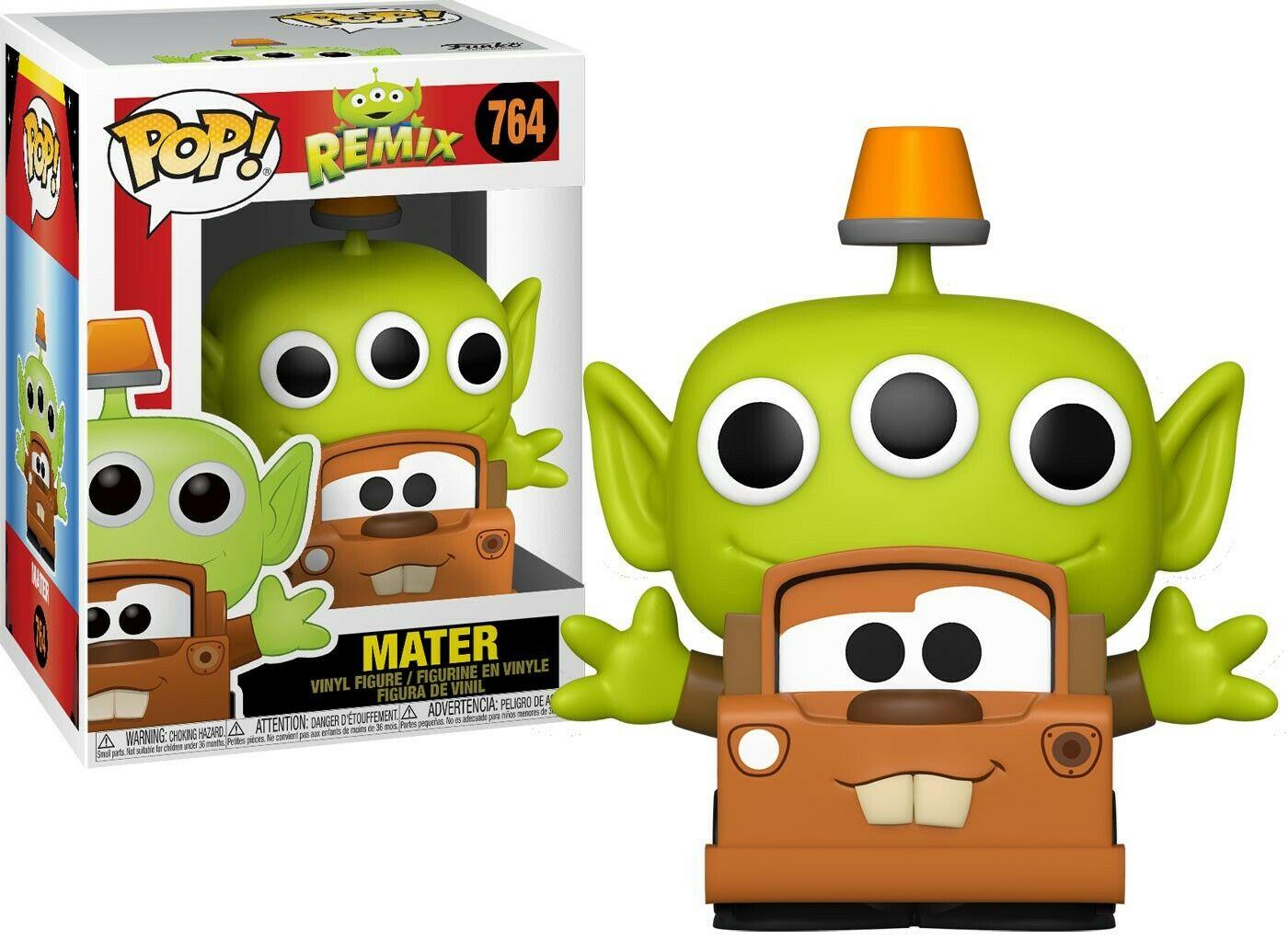 Pixar - Bobble Head Funko Pop N°756 : Alien Remix Mater