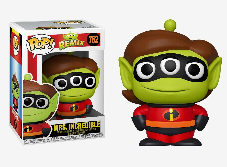 Pixar - Bobble Head Funko Pop N°762 : Alien Remix Mrs Incredible