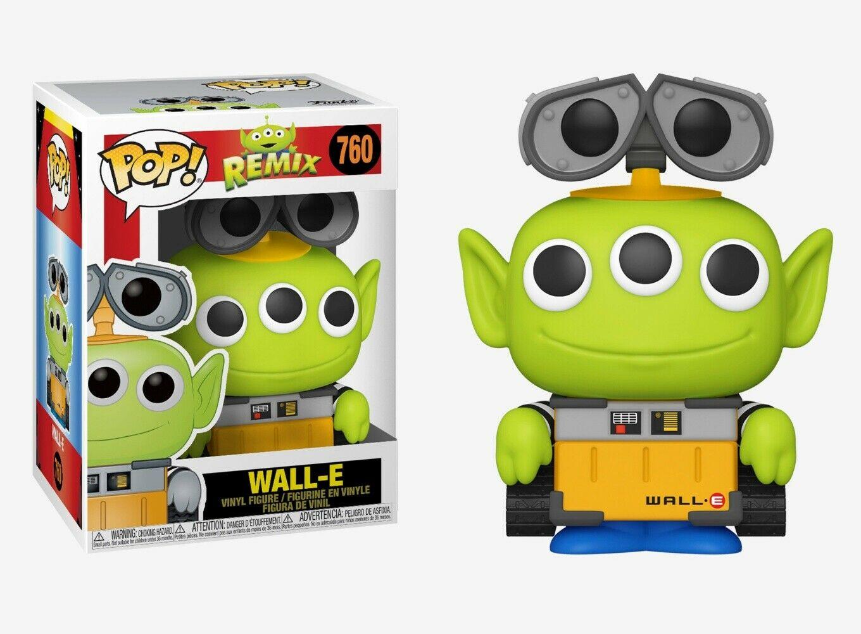 Pixar - Bobble Head Funko Pop N°756 : Alien Remix Wall-e
