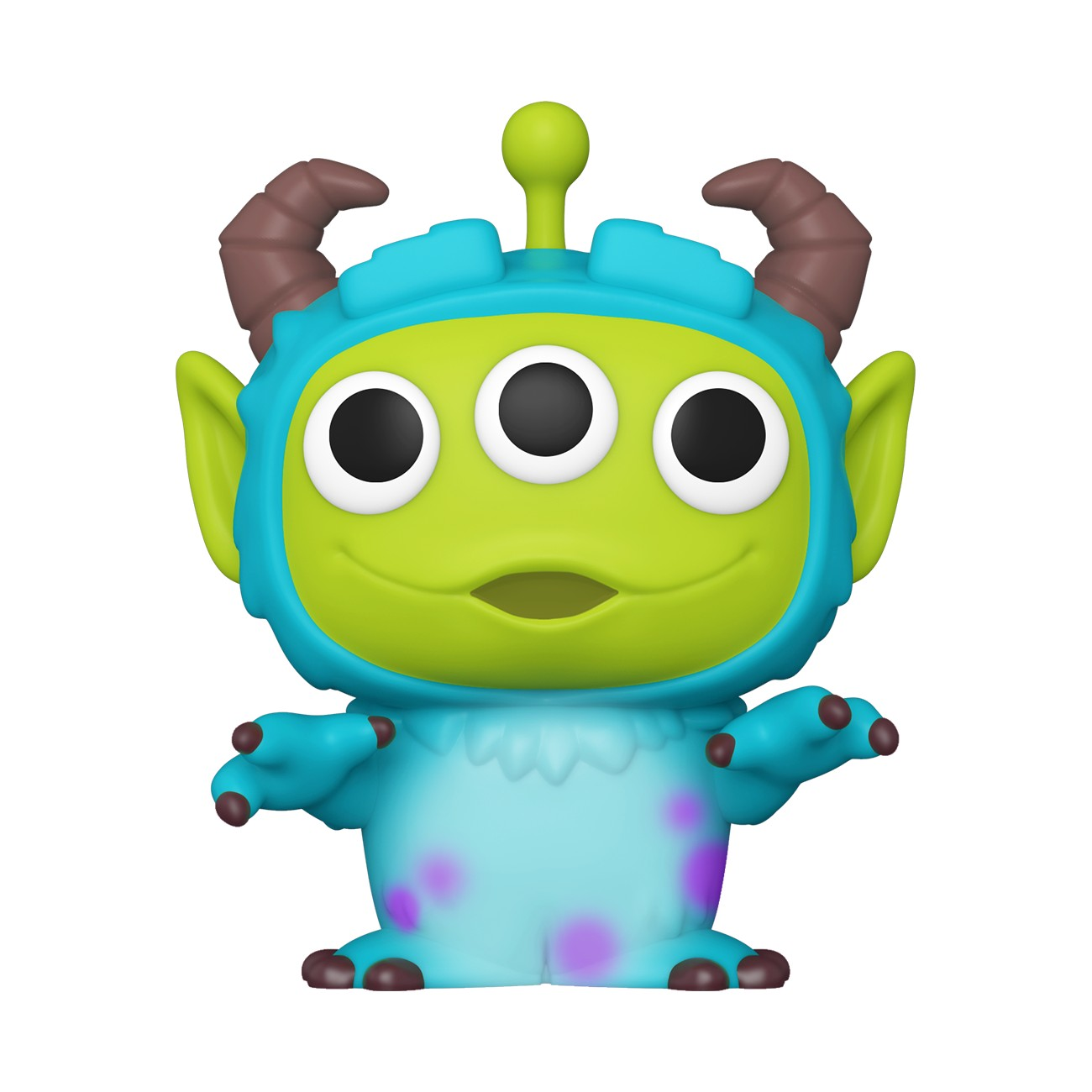 Pixar - Bobble Head Funko Pop N°759 : Alien Remix Sulley