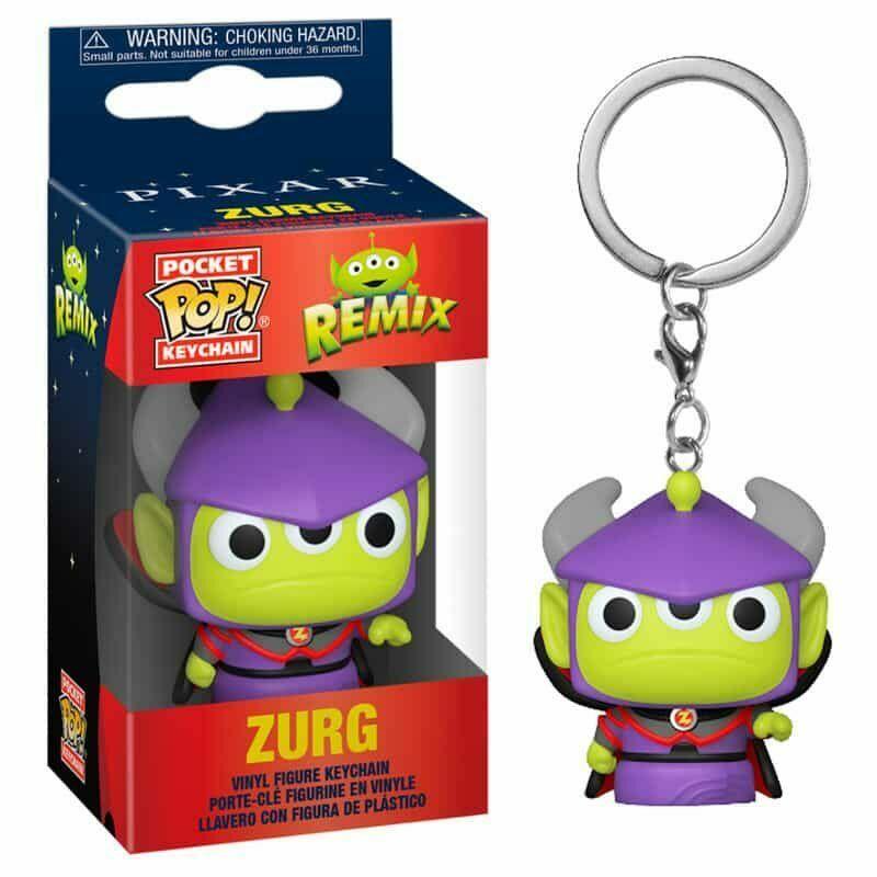 Pixar - Pocket Pop Keychain : Alien Remix Zurg