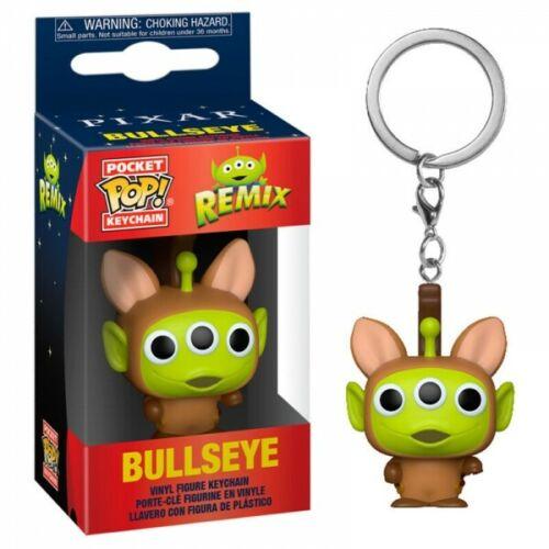 Pixar - Pocket Pop Keychain : Alien Remix Bullseye