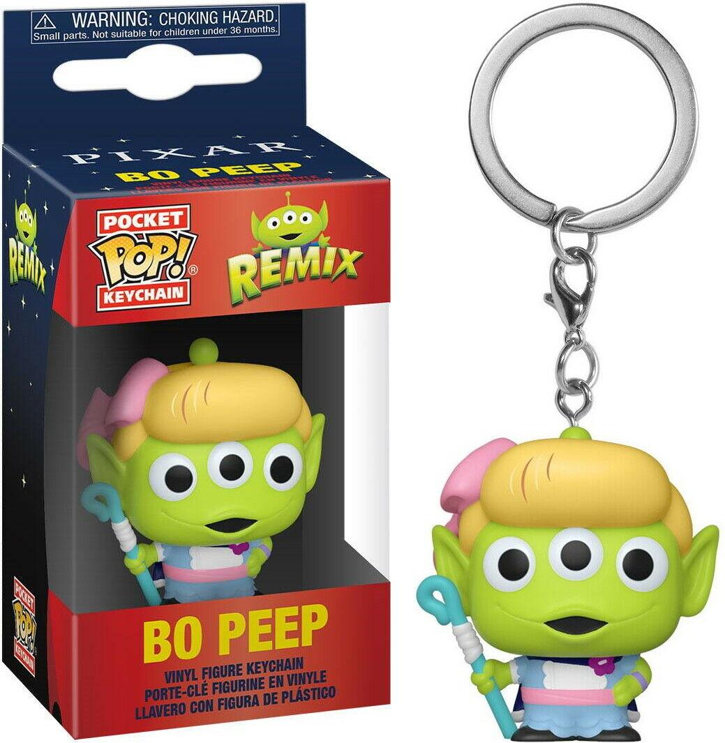 Pixar - Pocket Pop Keychain : Alien Remix Bo Peep