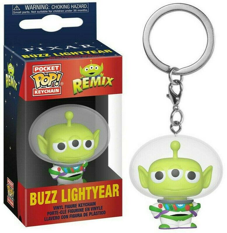 Pixar - Pocket Pop Keychain : Alien Remix Buzz