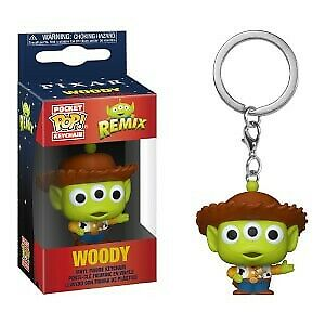 Pixar - Pocket Pop Keychain : Alien Remix Woody
