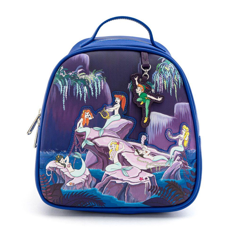 Disney - Loungefly : Sac à dos Peter Pan Mermaids