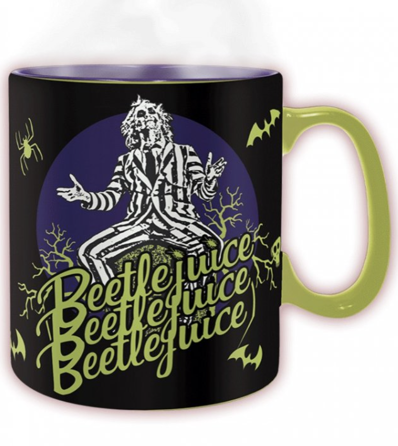 Beetlejuice : Mug thermo-réactif