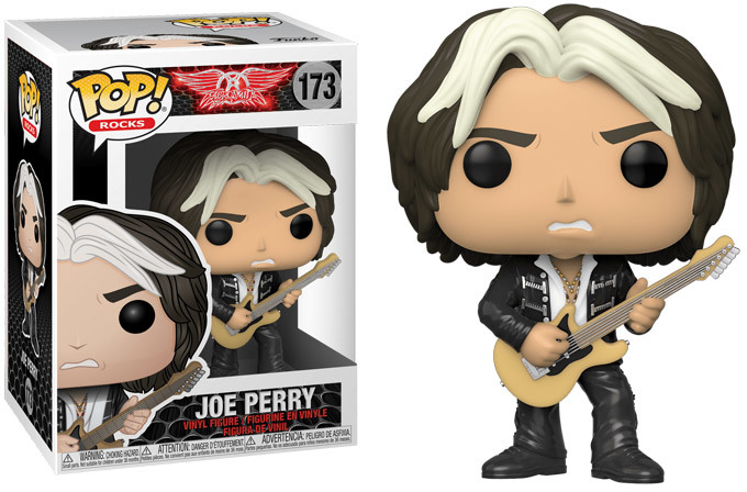 Aerosmith - Bobble Head Funko Pop N° 173 : Joe Perry