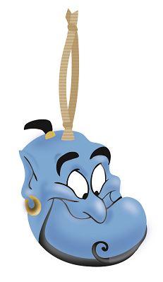 Disney - Aladdin : Décoration à suspendre Génie
