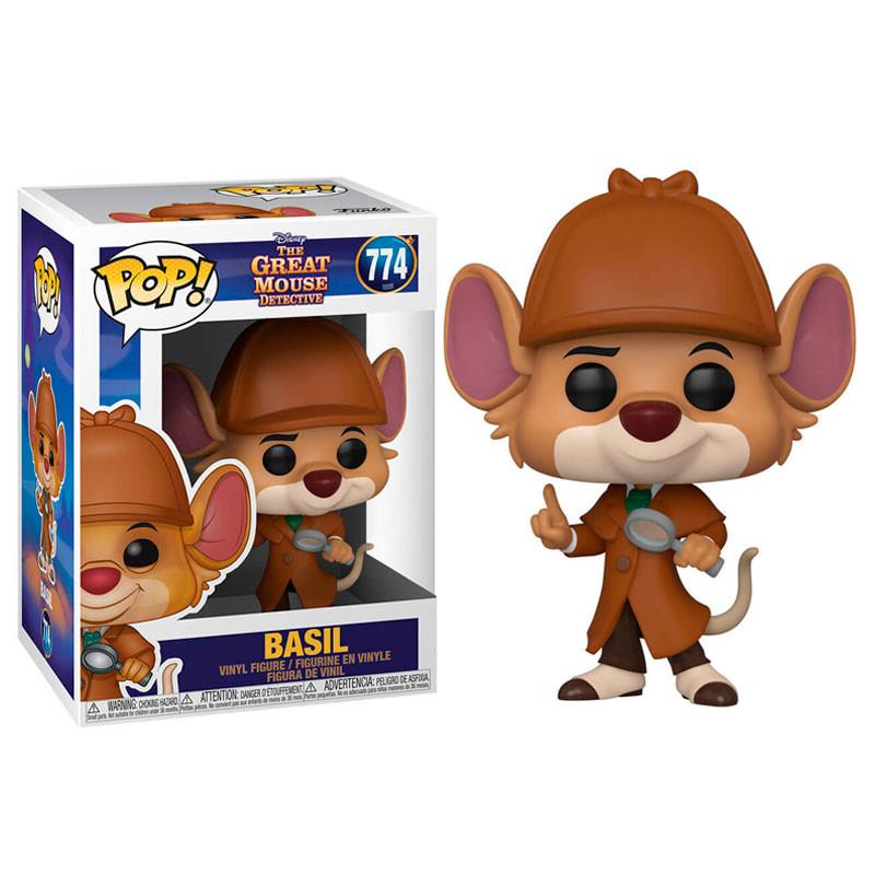 Disney - Bobble Head Funko Pop N°774 : Basil