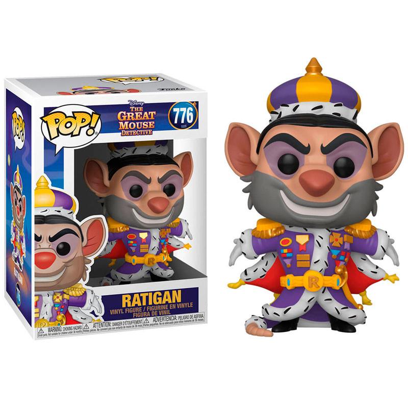 Disney - Bobble Head Funko Pop N°776 - Ratigan
