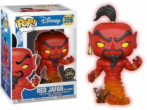 Aladdin - Bobble Head Funko Pop N°356 : Red Jafar Chase