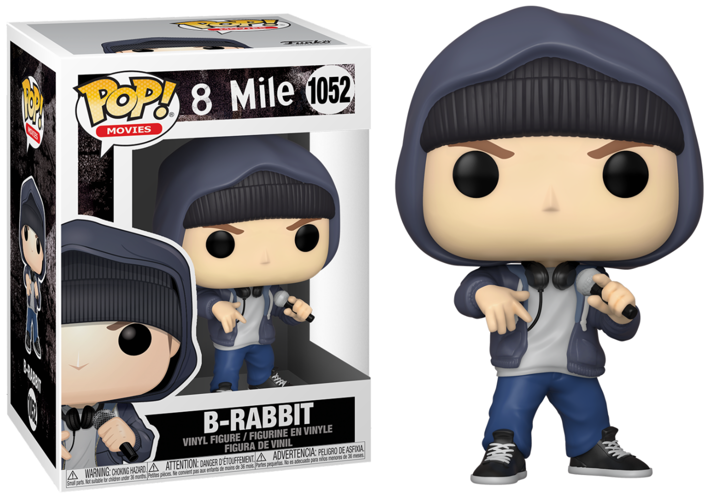 8 mile - Bobble Head Funko Pop N°1052 : B-Rabbit
