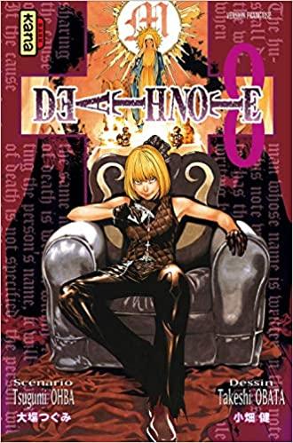 Manga - Death Note : Tome 8