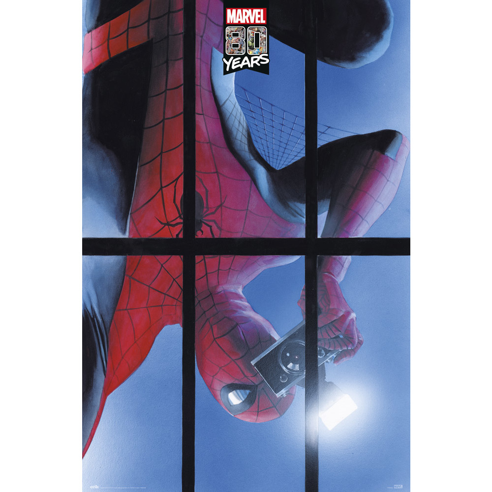Marvel - Spiderman : Poster Marvel 80 years