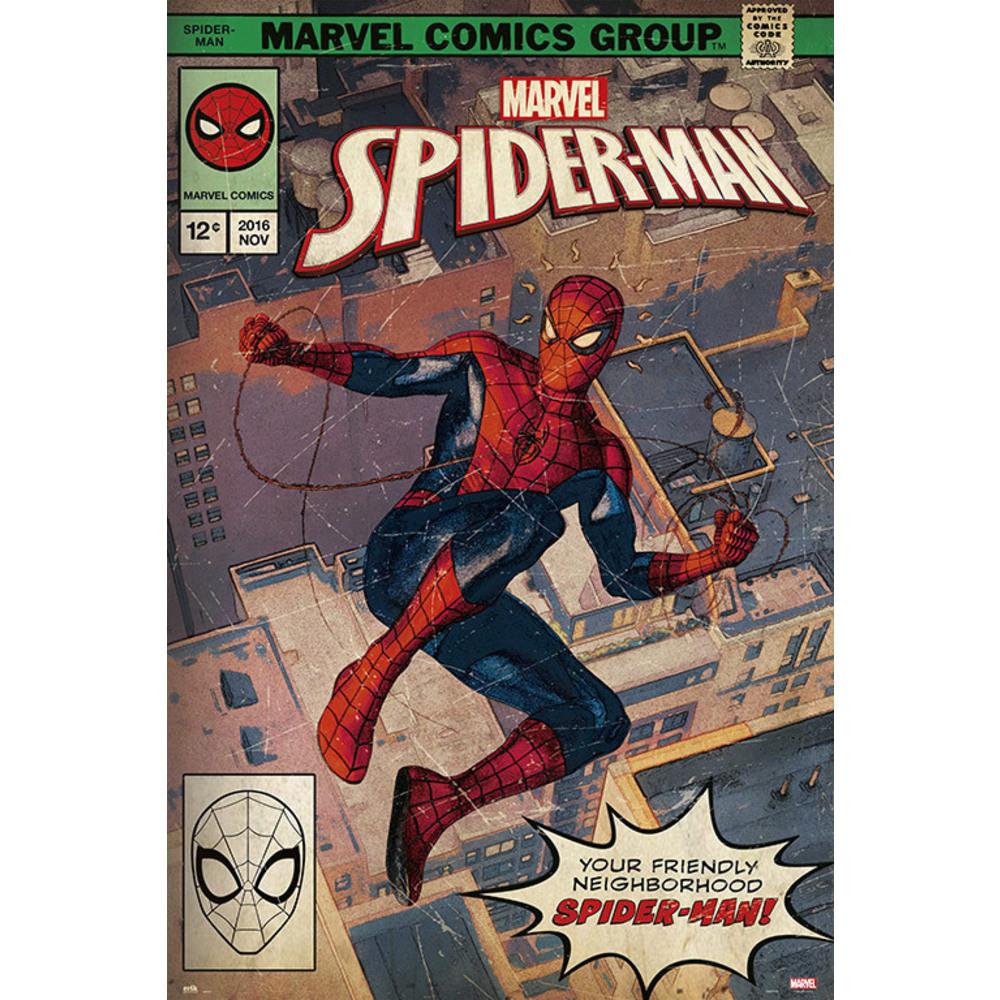 Marvel - Spiderman : Poster Affiche Comics