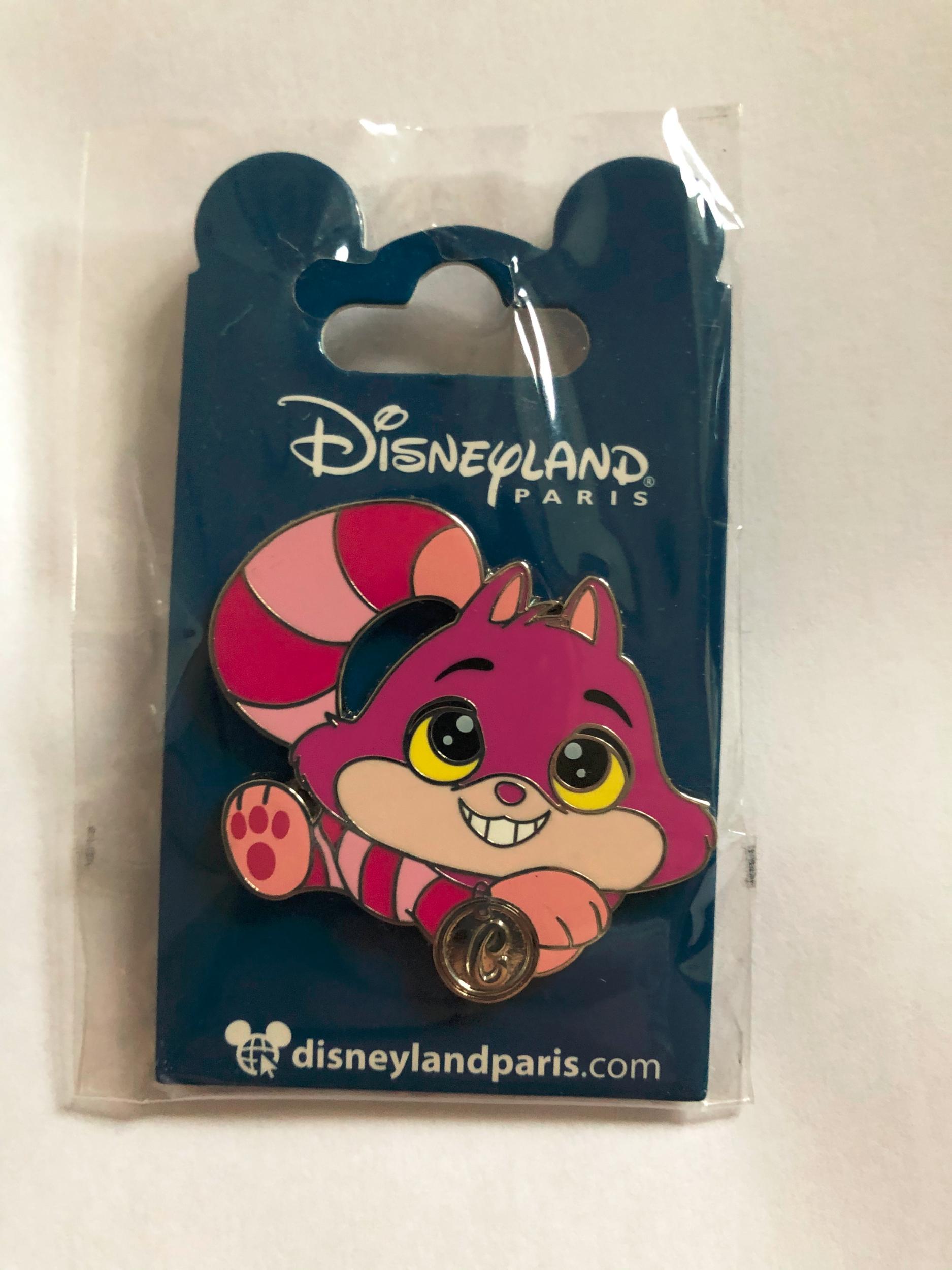 Disney - Alice au pays des merveilles : Pin\'s naïf Cheshire Cat OE