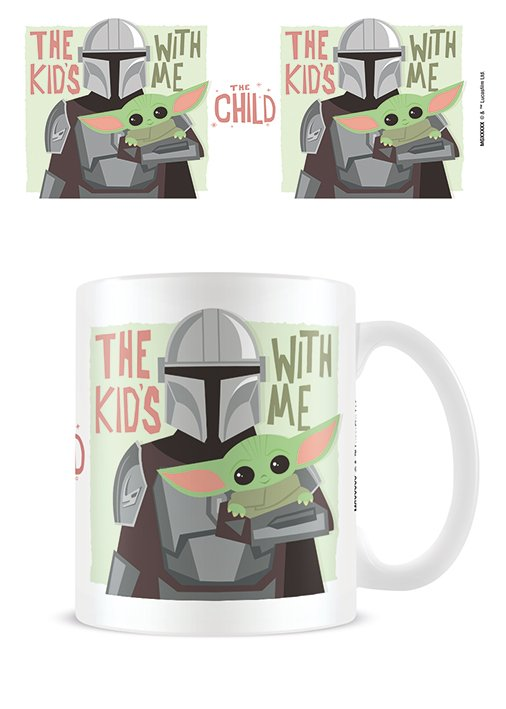 Star Wars - The Mandalorian : Mug The kid with me