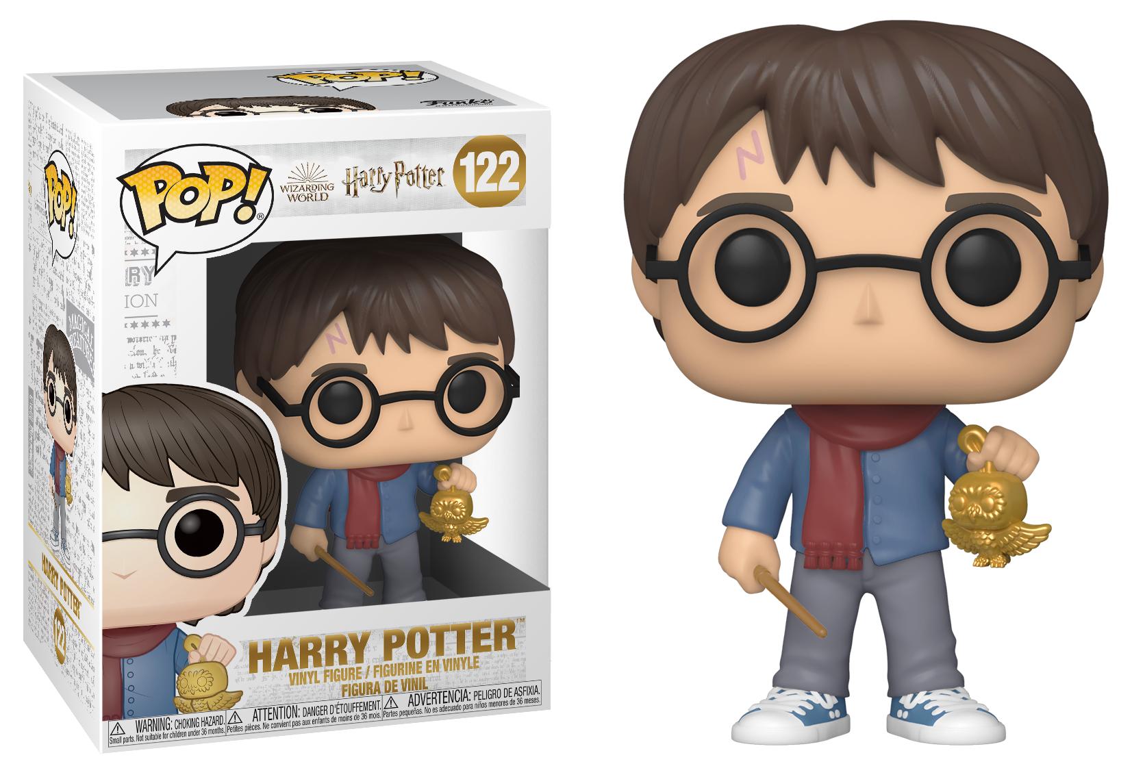 Harry Potter - Bobble Head Funko Pop N°122 : Holiday Harry