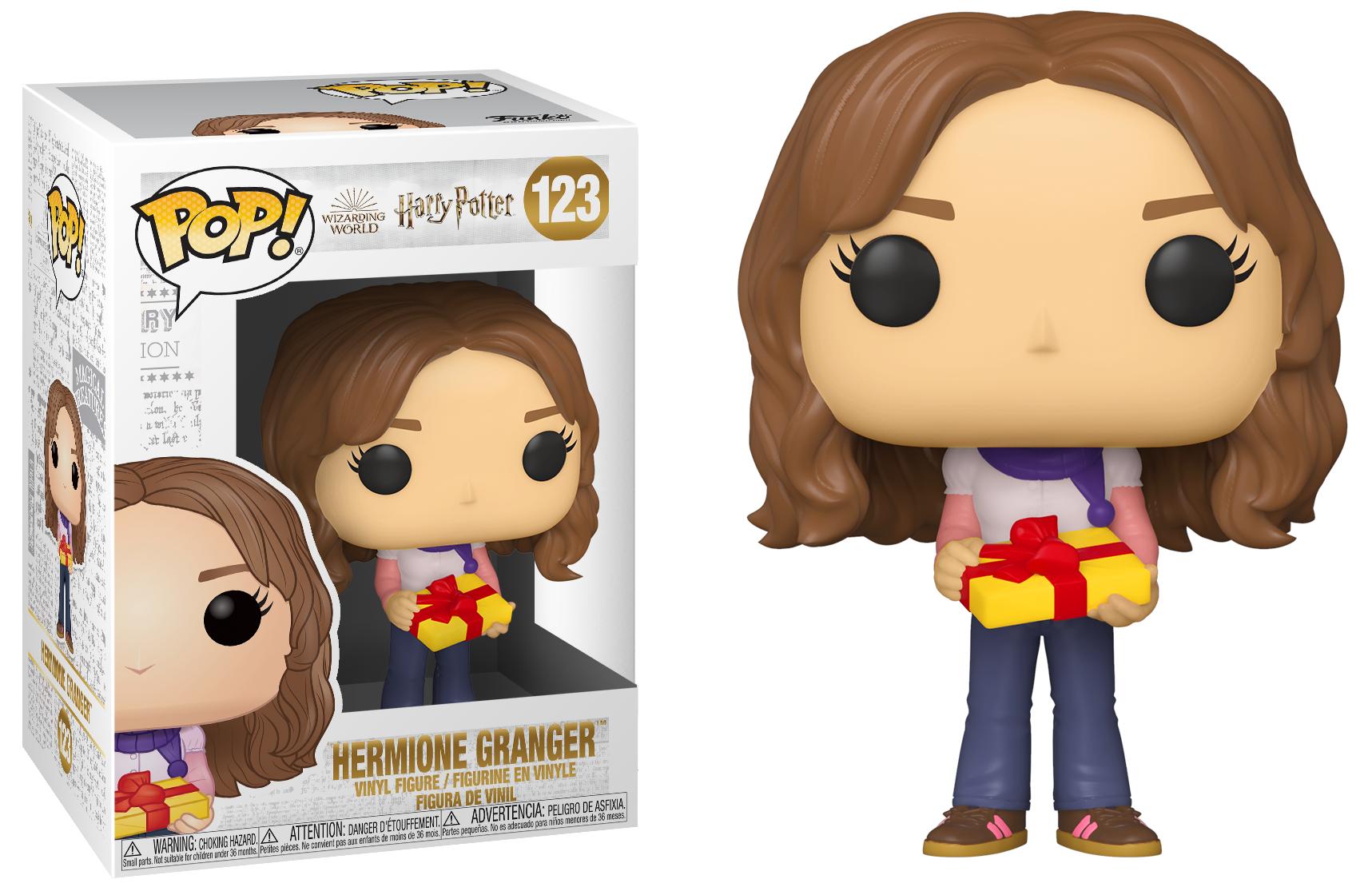 Harry Potter - Bobble Head Funko Pop N°122 : Holiday Hermione Granger