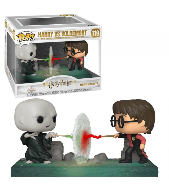 Harry Potter - Bobble Head Funko Pop N°119 : Harry vs Voldemort