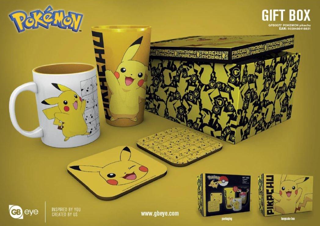 Pokémon : Coffret cadeau Pikachu