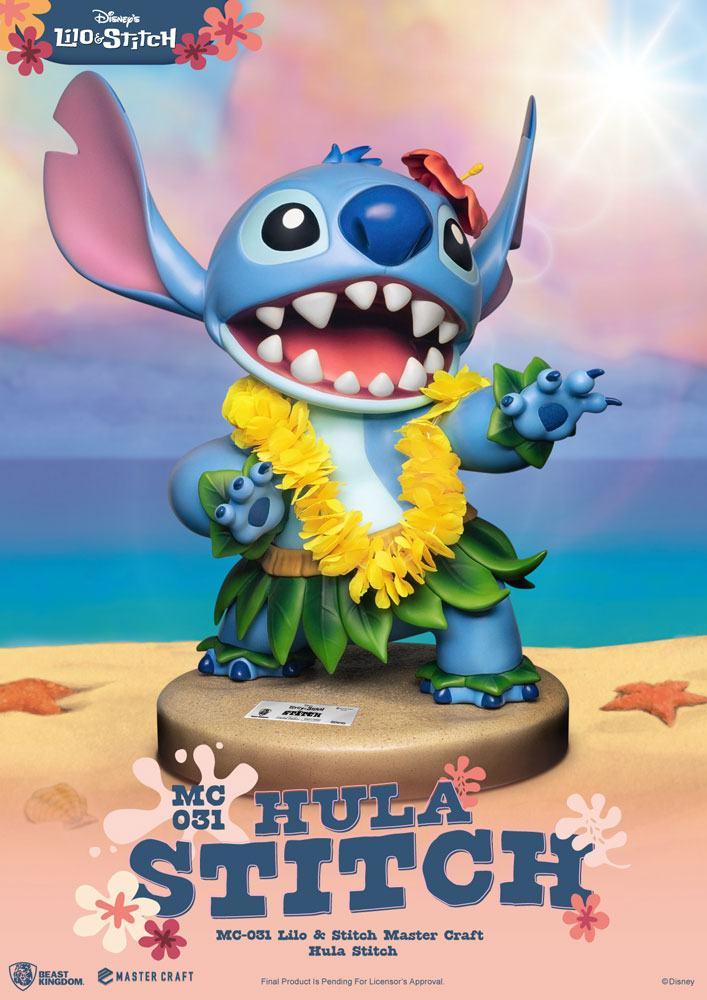 Pré-commande! Lilo et Stitch - Master Craft : Statuette Stitch Hula