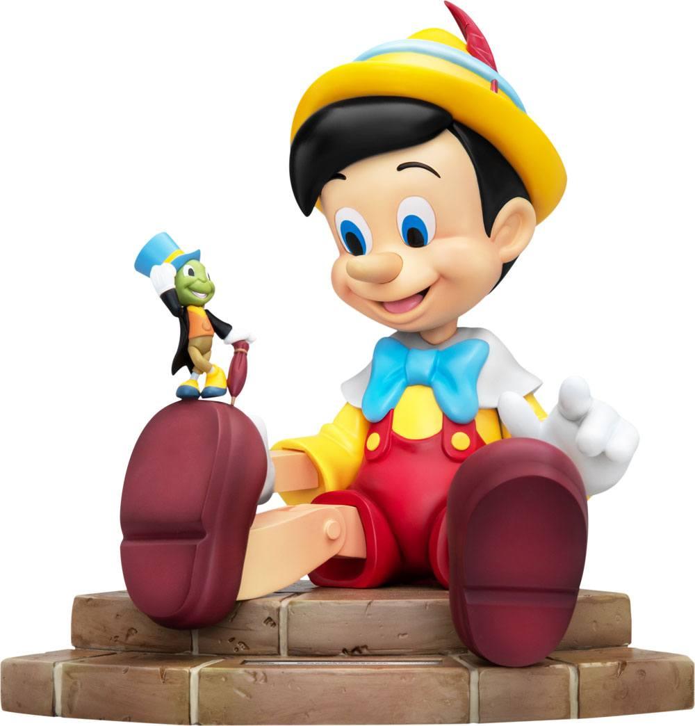 Pré-commande! Pinocchio - Master Craft : Statuette Pinocchio et Jiminy