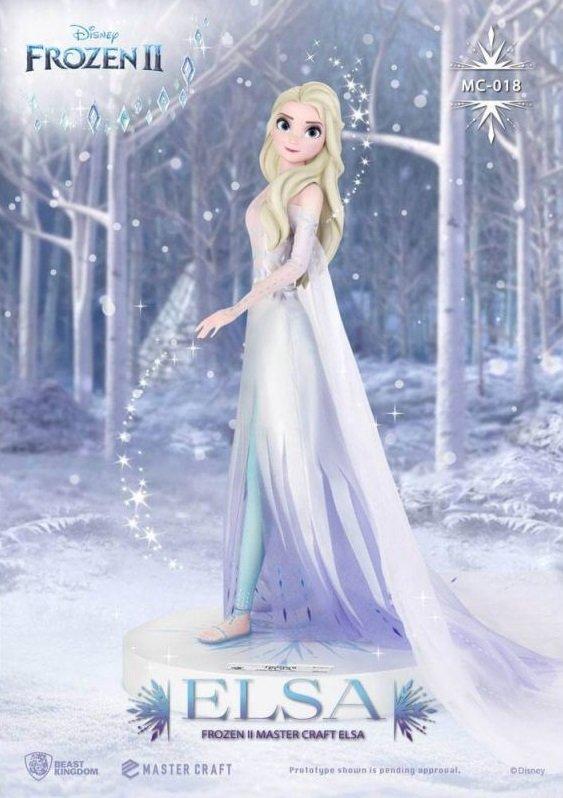 Pré-commande! La reine des neiges - Master Craft : Statuette Elsa
