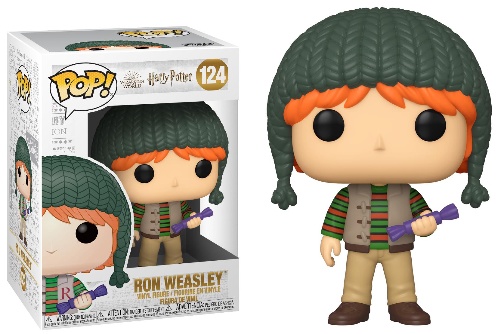 Harry Potter - Bobble Head Funko Pop N°124 : Ron Weasley