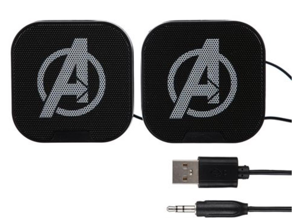Marvel - Avengers : Enceinte filaire noir