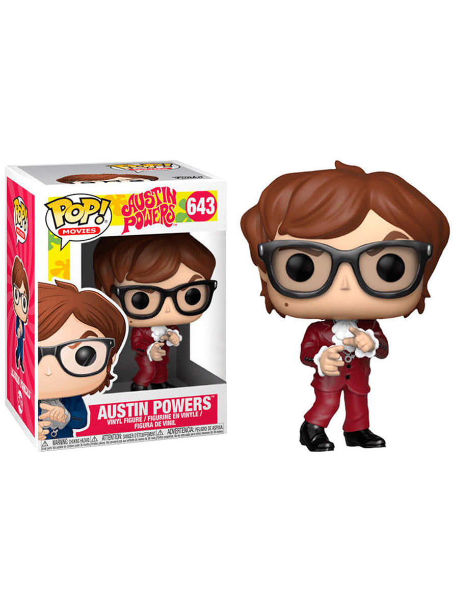 Austin Powers - Funko Pop N°643 : Red Suit Austin Limited Edition