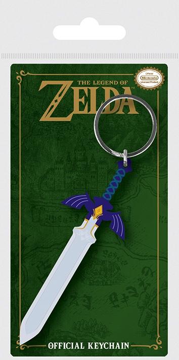Nintendo - Zelda : Porte-clé métal 3D Master Sword