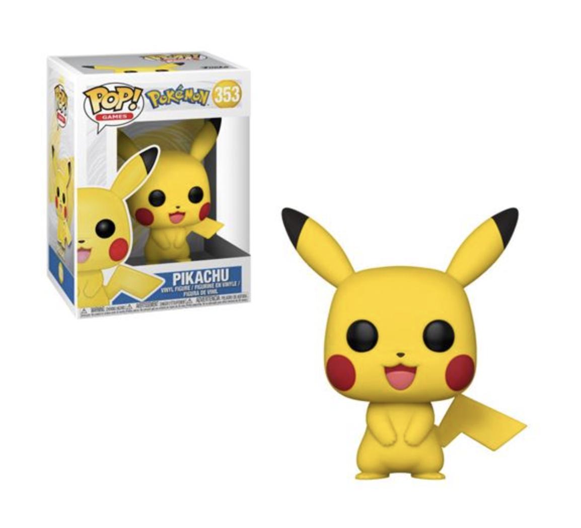 Pokémon - Bobble Head Funko Pop N° 353 : Pikachu