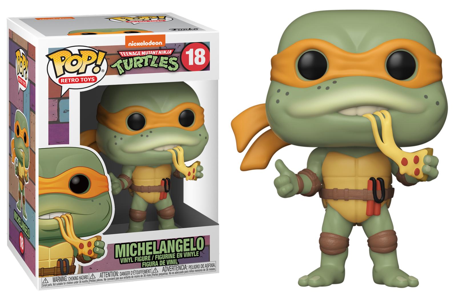 Teenage Mutant Ninja Turtles - Funko Pop N°18 : Michelangelo