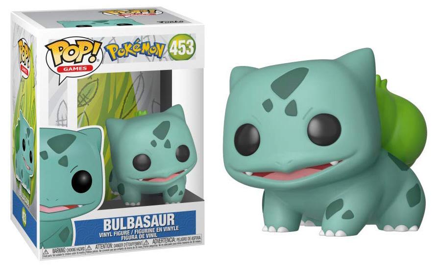 Pokémon - Bobble Head Funko Pop N°453 : Bulbasaur