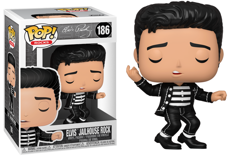 Elvis Presley - Bobble Head Funko Pop N°186 : Jailhouse Rock