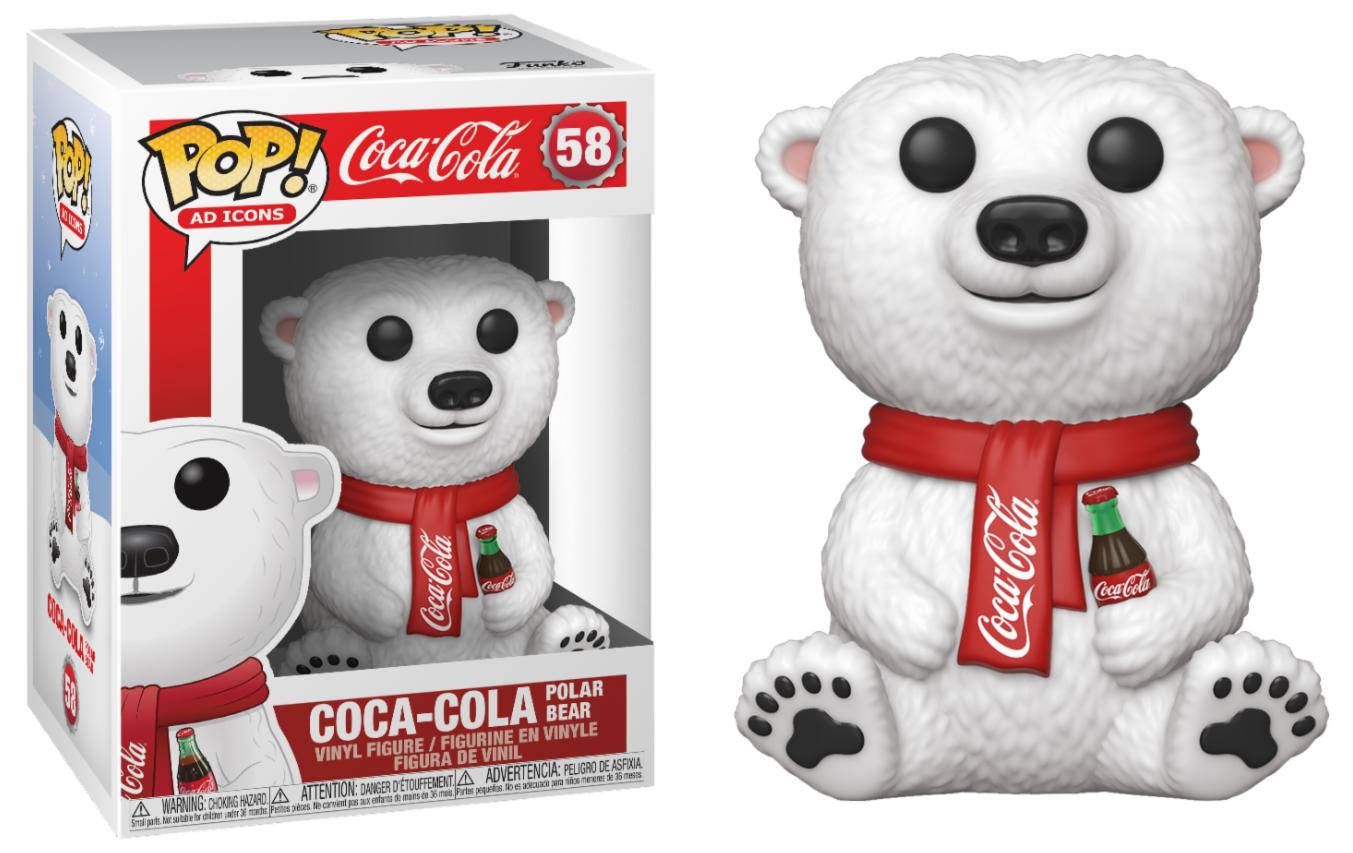 Coca Cola - Bobble Head Funko Pop N°58 : Polar Bear