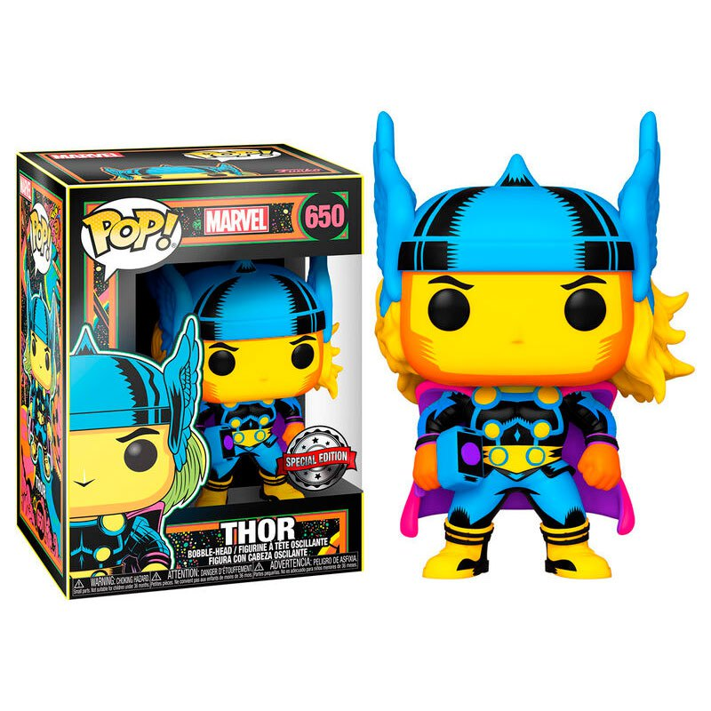 Marvel - Bobble Head Funko Pop N°650 : Thor Special Edition