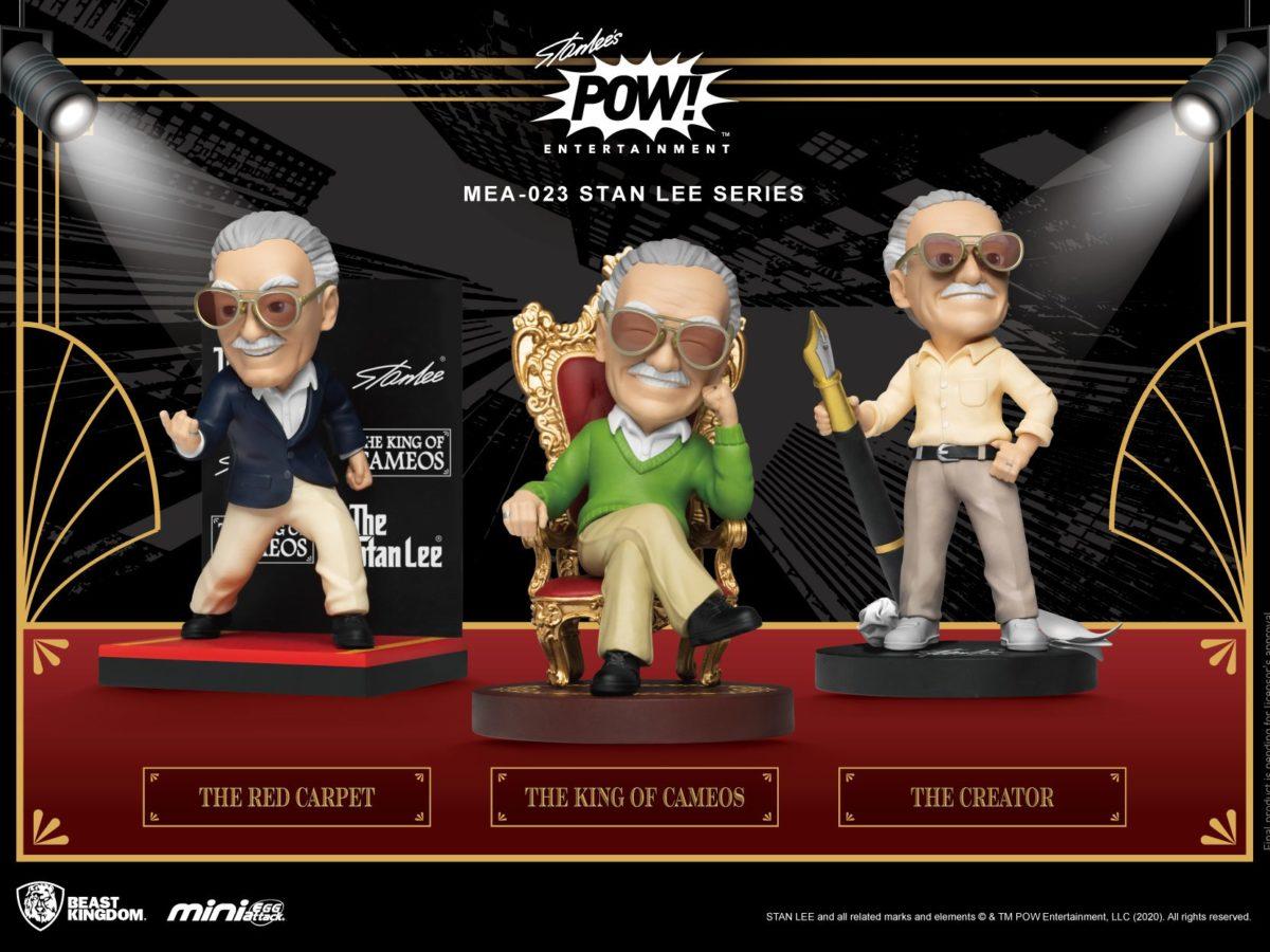 Pré-commande! Marvel - Stan Lee : Set de 3 figurines