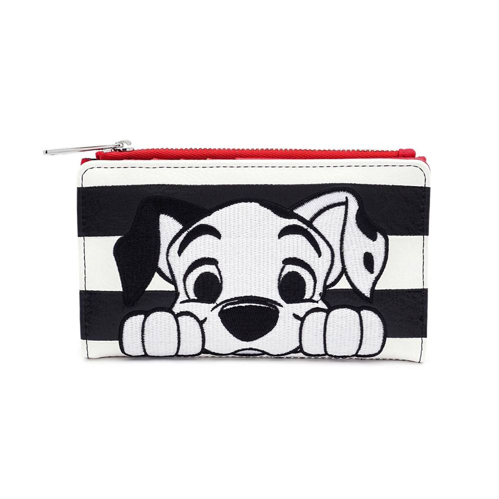 Disney - Loungefly : Porte-monnaie 101 Dalmatiens Striped